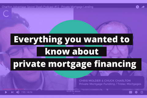 about private mortgage financing